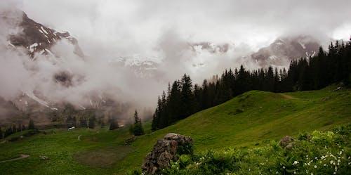 Foto stok gratis Austria, kabut, pegunungan, pegunungan Alpen