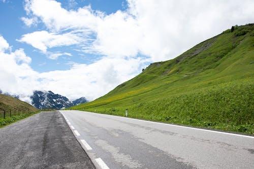 Foto stok gratis Austria, bukit, jalan, pegunungan
