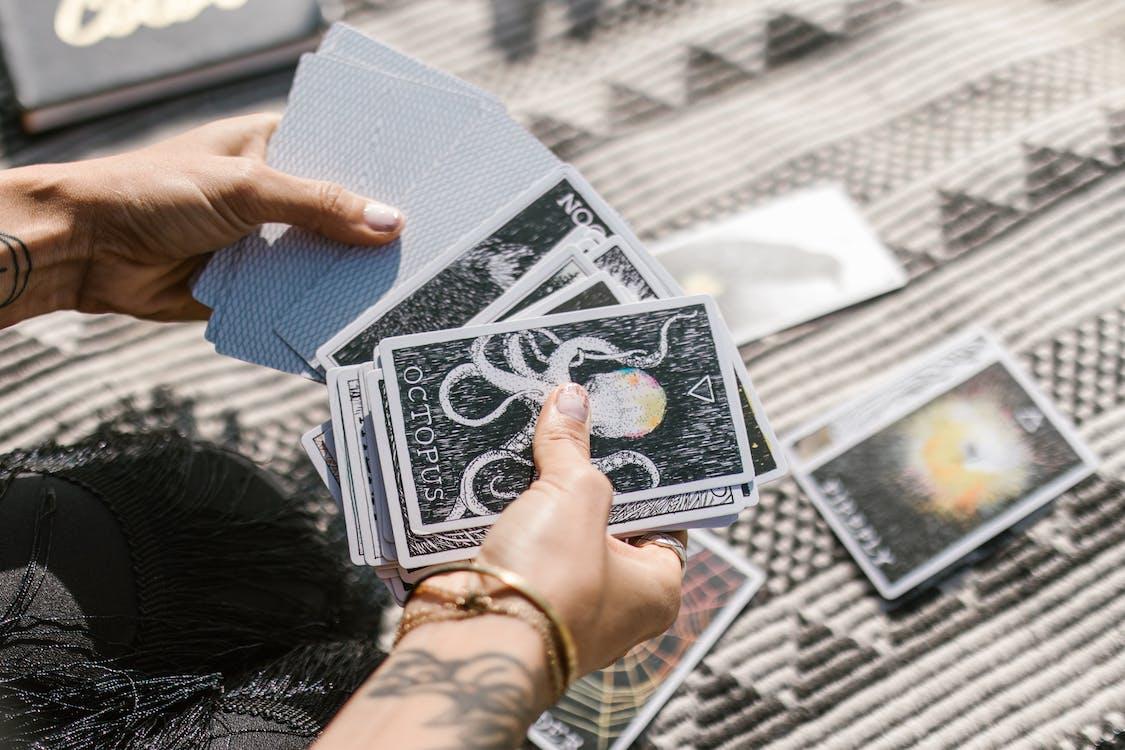 คลังภาพถ่ายฟรี ของ astrologia, cardistry, magia