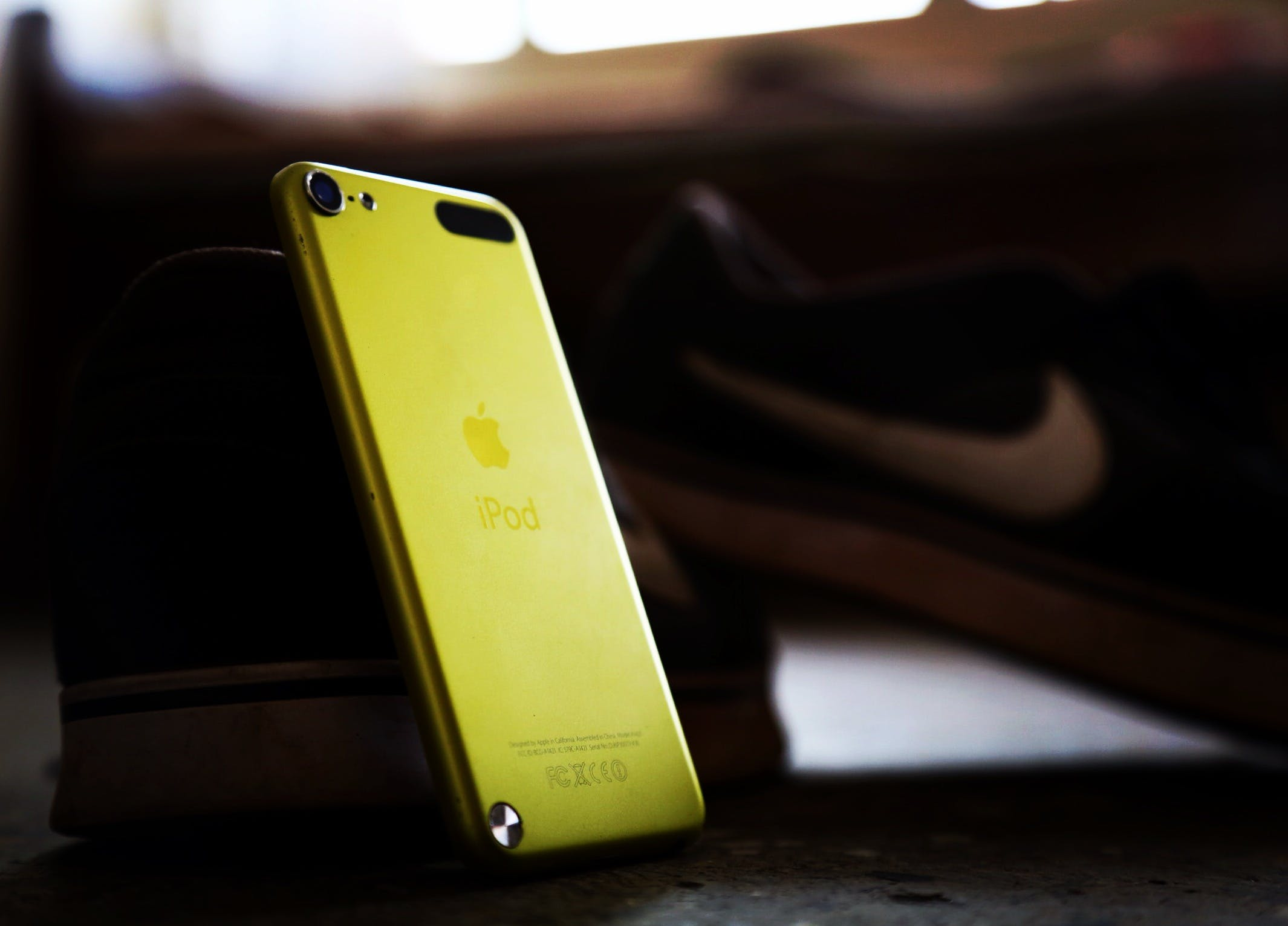 Yellow Ipod Touch