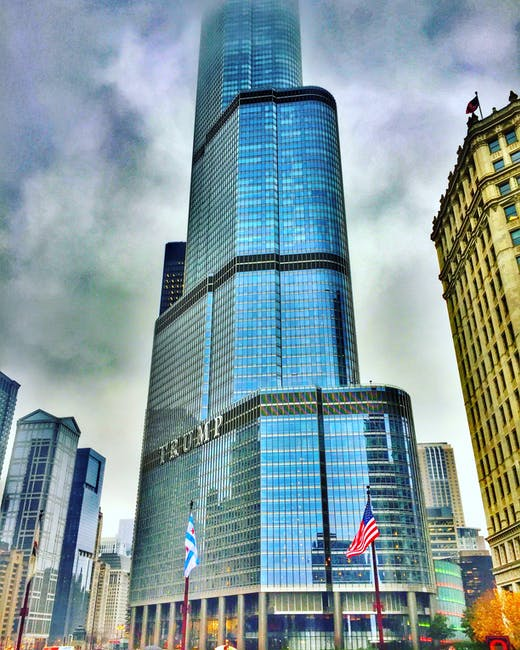 Low Angle Photography Of Building Free Stock Photo: Low Angle Photography Of Trump Building · Free Stock Photo