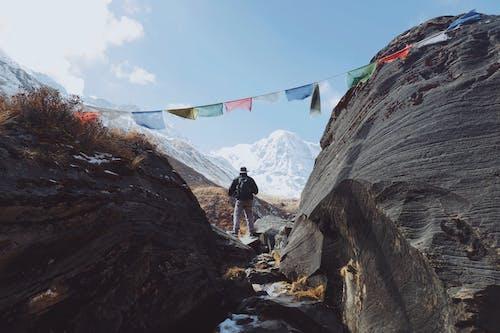 Photos gratuites de annapurna, aventure, caillou