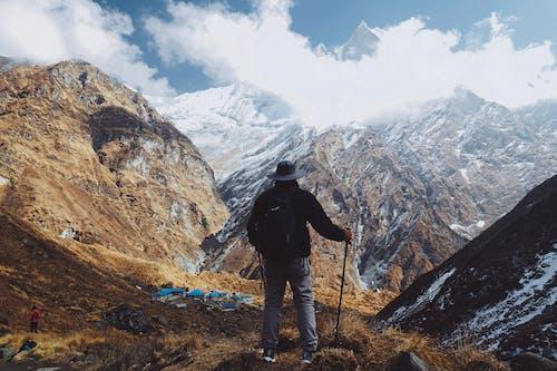 Photos gratuites de alpinisme, alpiniste, altitude