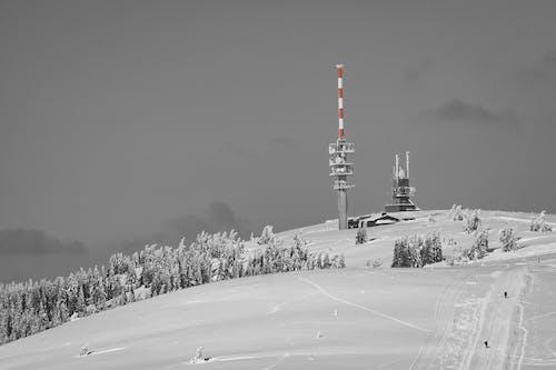 Fotos de stock gratuitas de antena, estación de espionaje, estación repetidora, frío