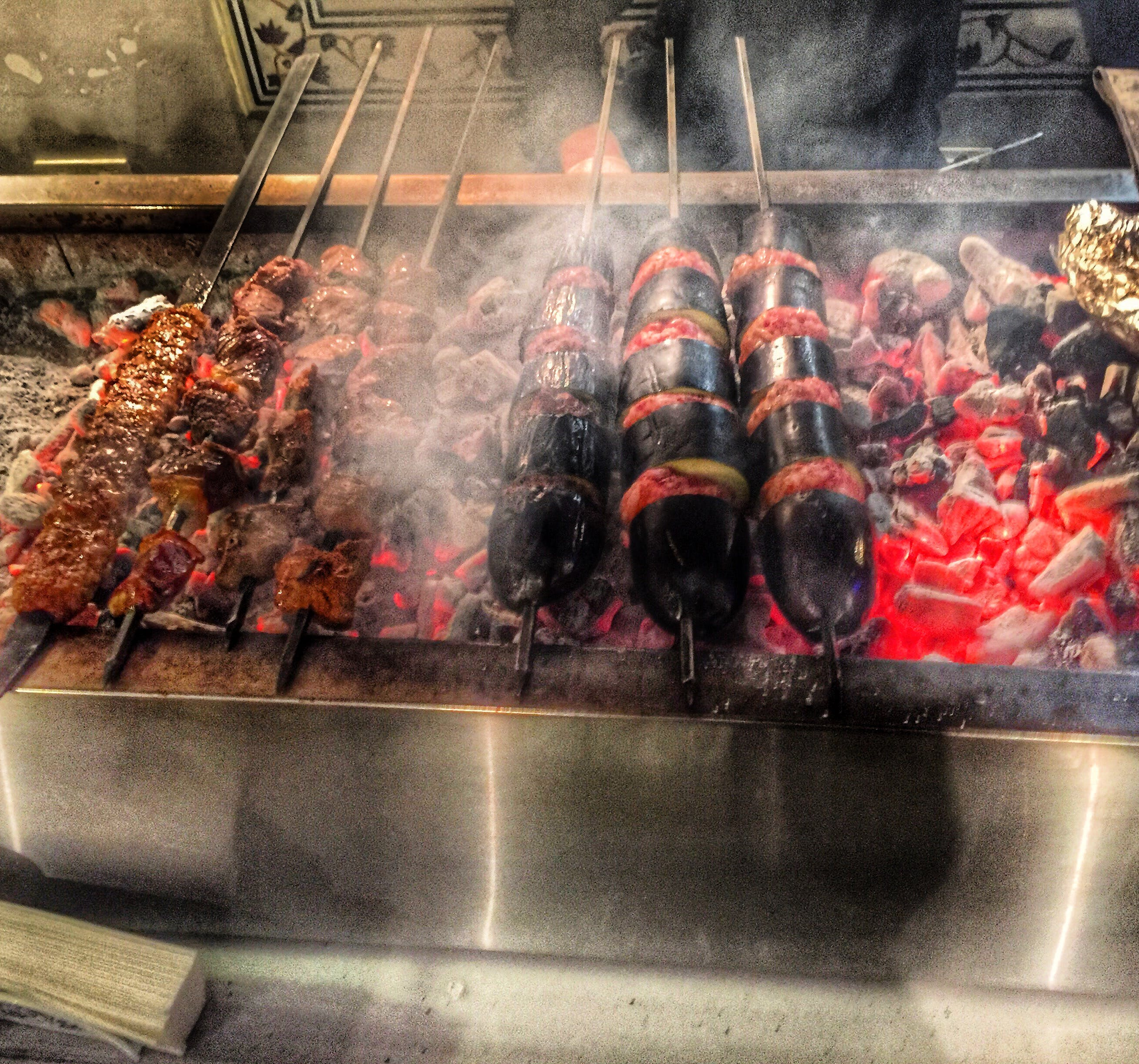 Free stock photo of barbecue, kebab