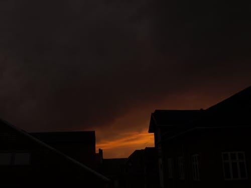 下午, 冷色調, 天空, 建築 的 免費圖庫相片