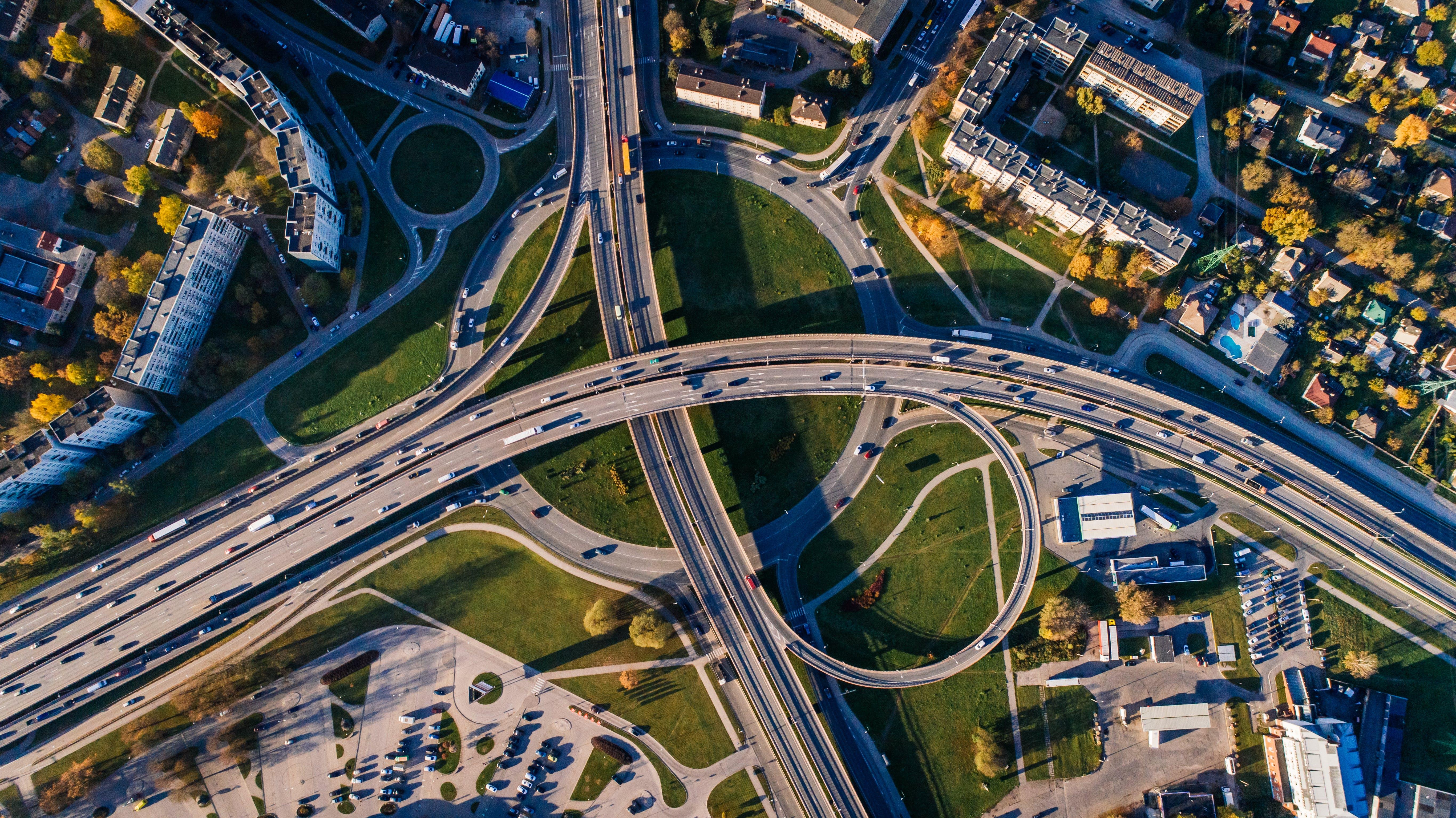 交通, 交通系統, 公園, 城市 的 免费素材照片