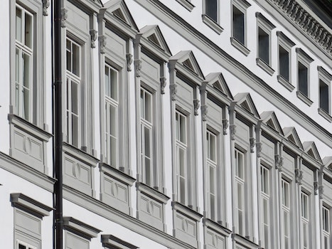 Free stock photo of building, architecture, windows, white