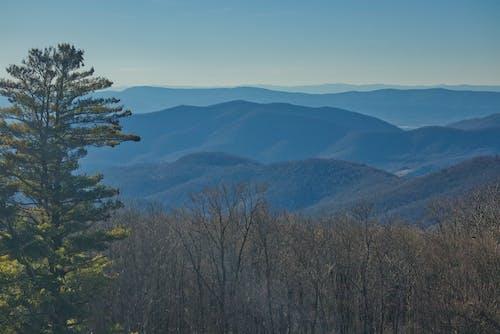 Free stock photo of blue ridge mountains, blue sky, nature