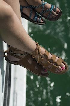 Free stock photo of sea, feet, boat, ship