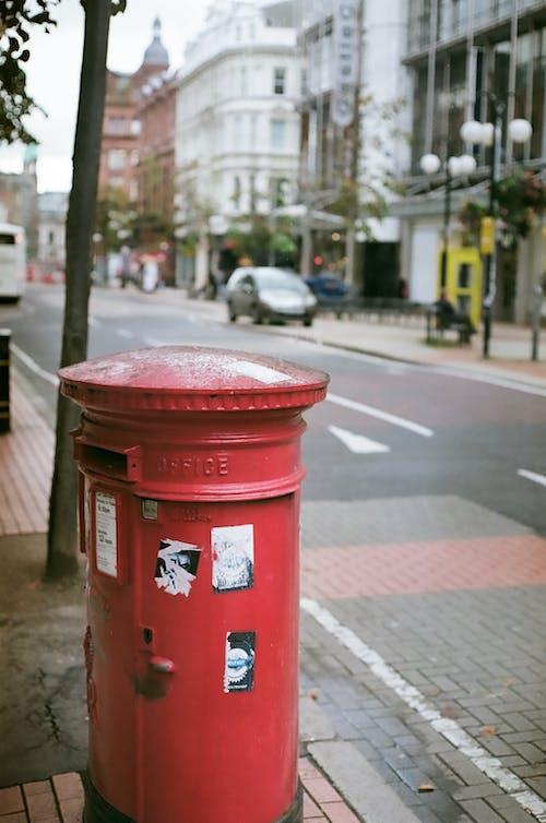 Free stock photo of 35mm film, postbox