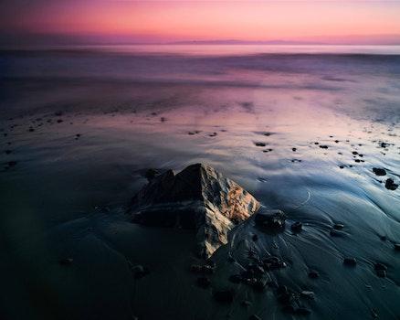 Free stock photo of light, nature, sunset, sand