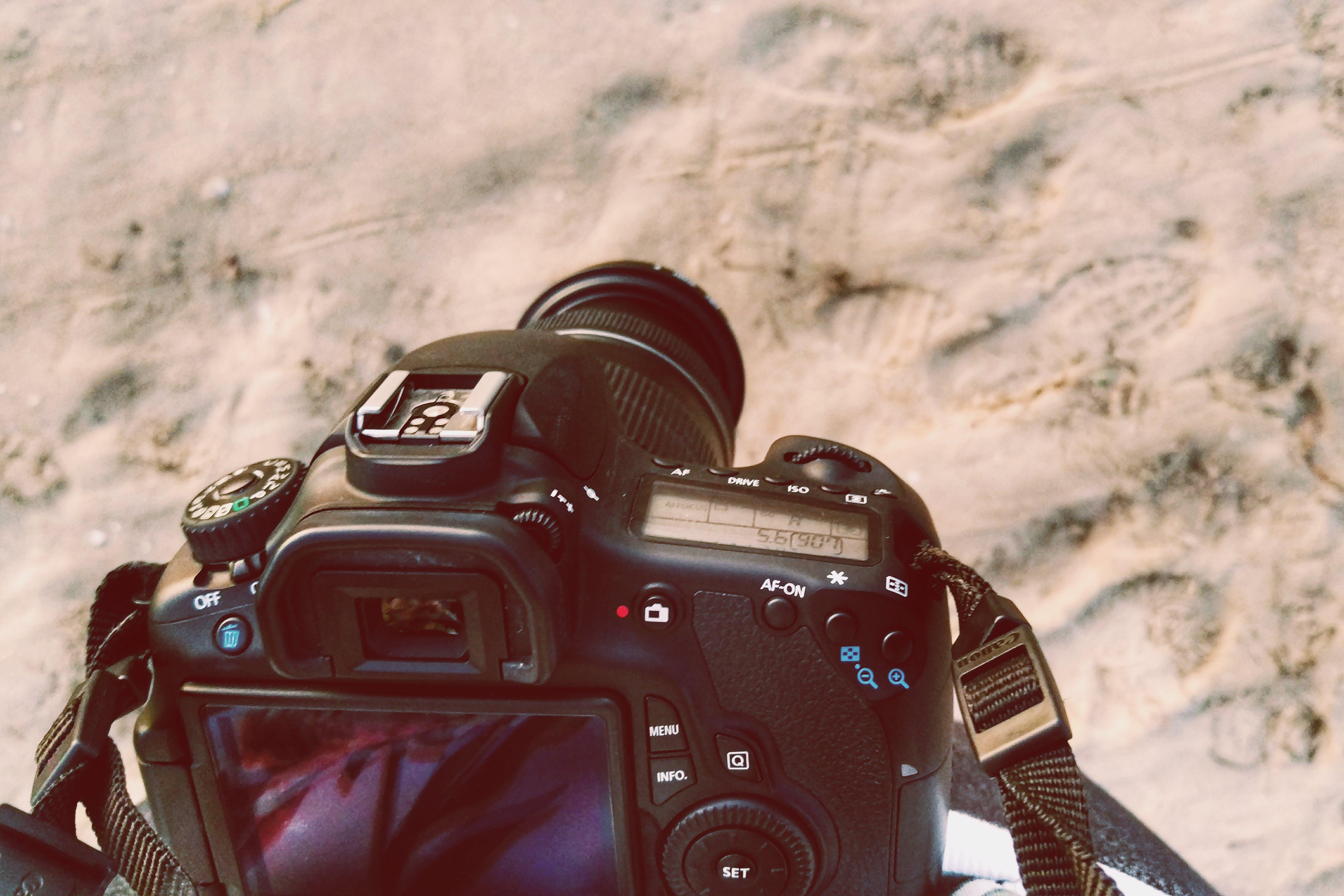 Close-up Photo of Black Dslr Camera