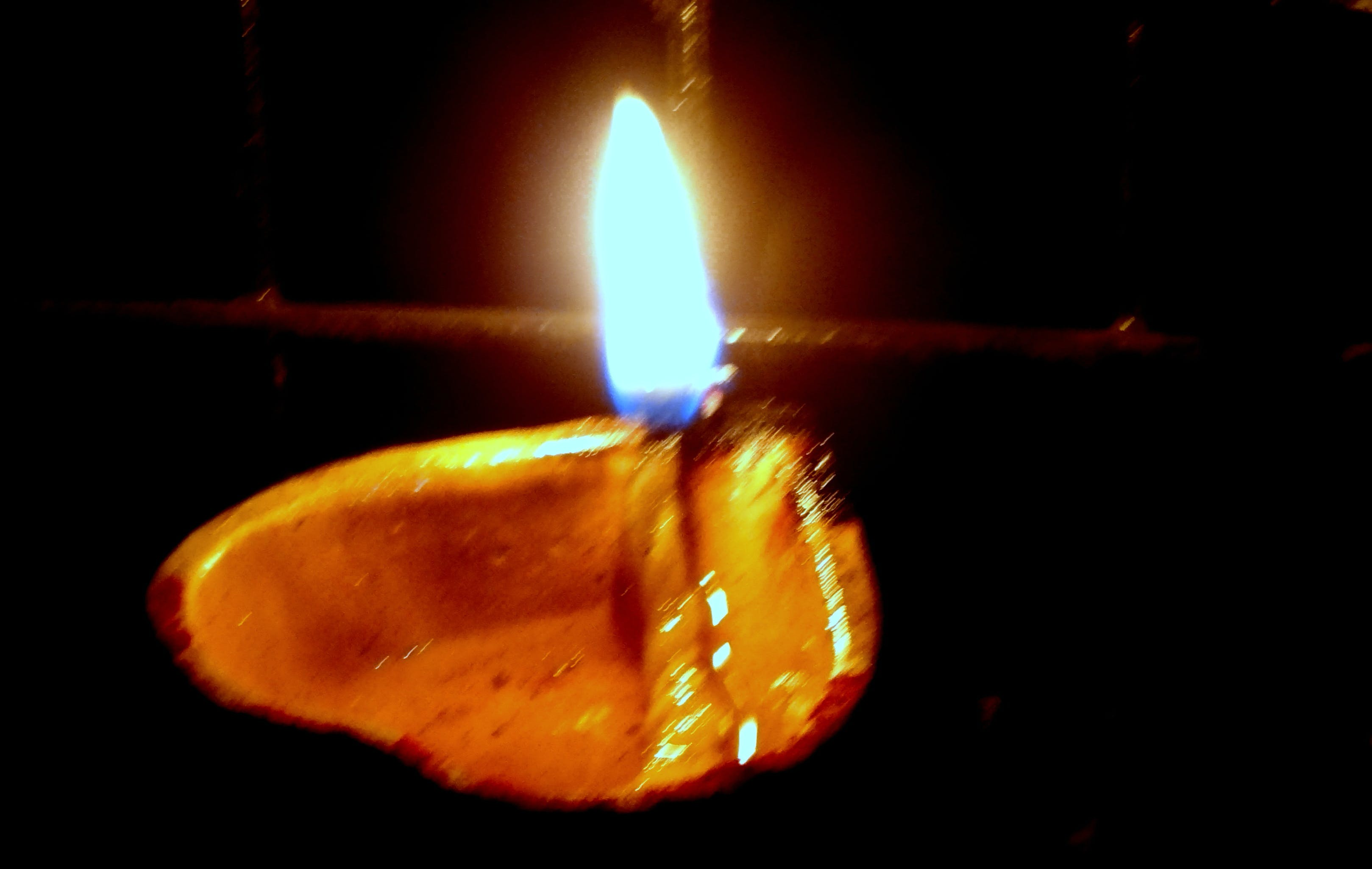 Free stock photo of 'OIL-LAMP'.....!