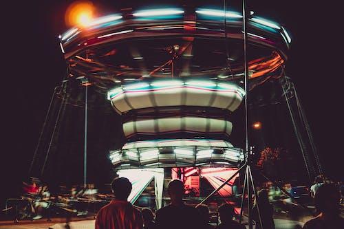 Fotobanka sbezplatnými fotkami na tému časozberný, dlhá expozícia, jazdy, karneval
