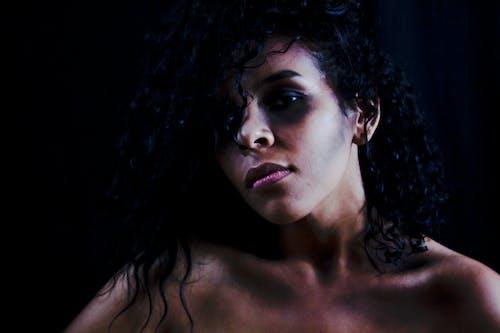 Бесплатное стоковое фото с Афро, Взрослый, волос, вьющиеся волосы