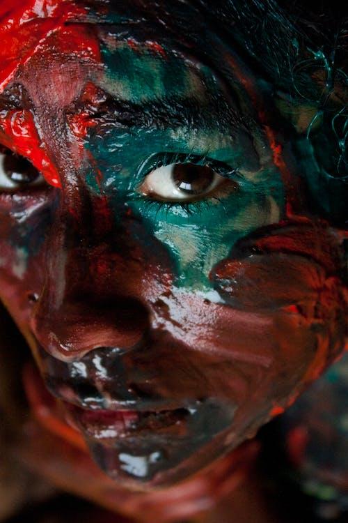 Ingyenes stockfotó festék, kreatív, nő, szem témában
