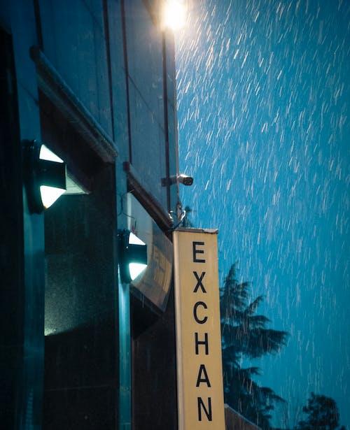 Free stock photo of after rain, blue light, bright light