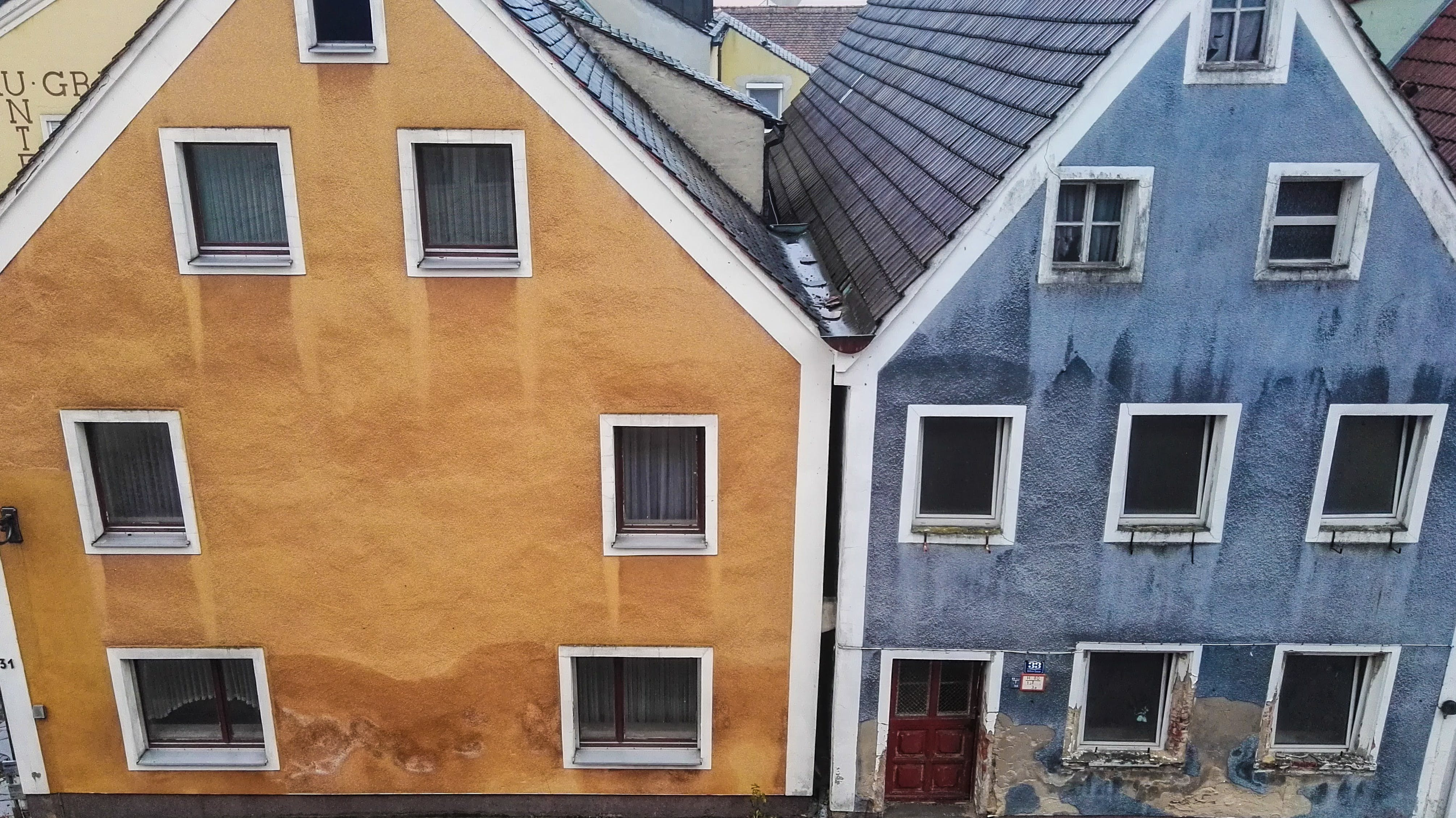 Free stock photo of buildings, colorful, homes, old