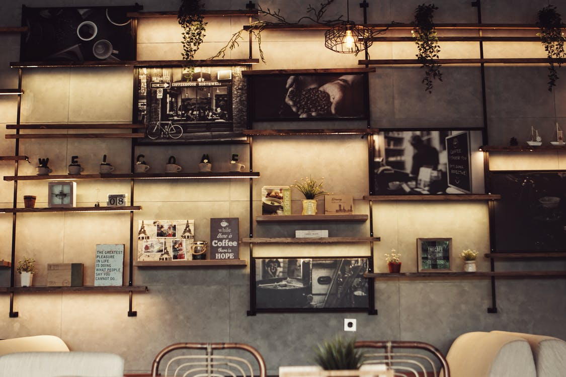 Free stock photo of background, coffee shop, cozy