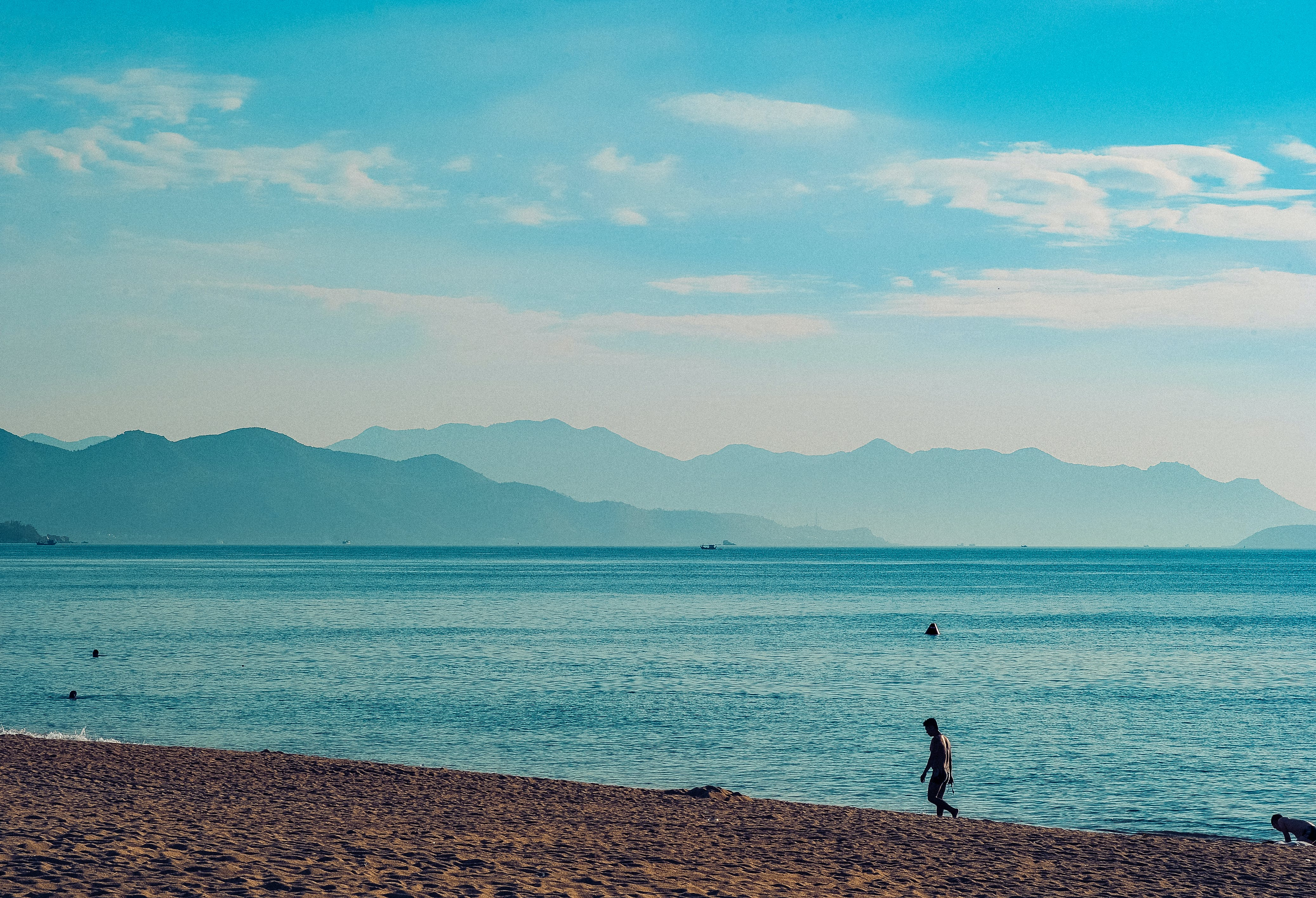 Scenic View Of Ocean