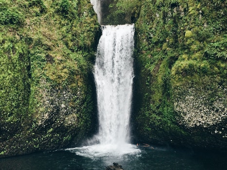 Free stock photo of nature, waterfall