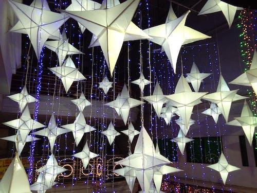 Free stock photo of christmas lights, sparkle, stars, twinkle