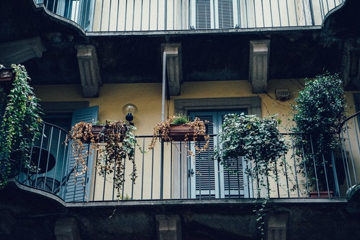 Free stock photo of Milan Italy Italia courtyard inner inside building