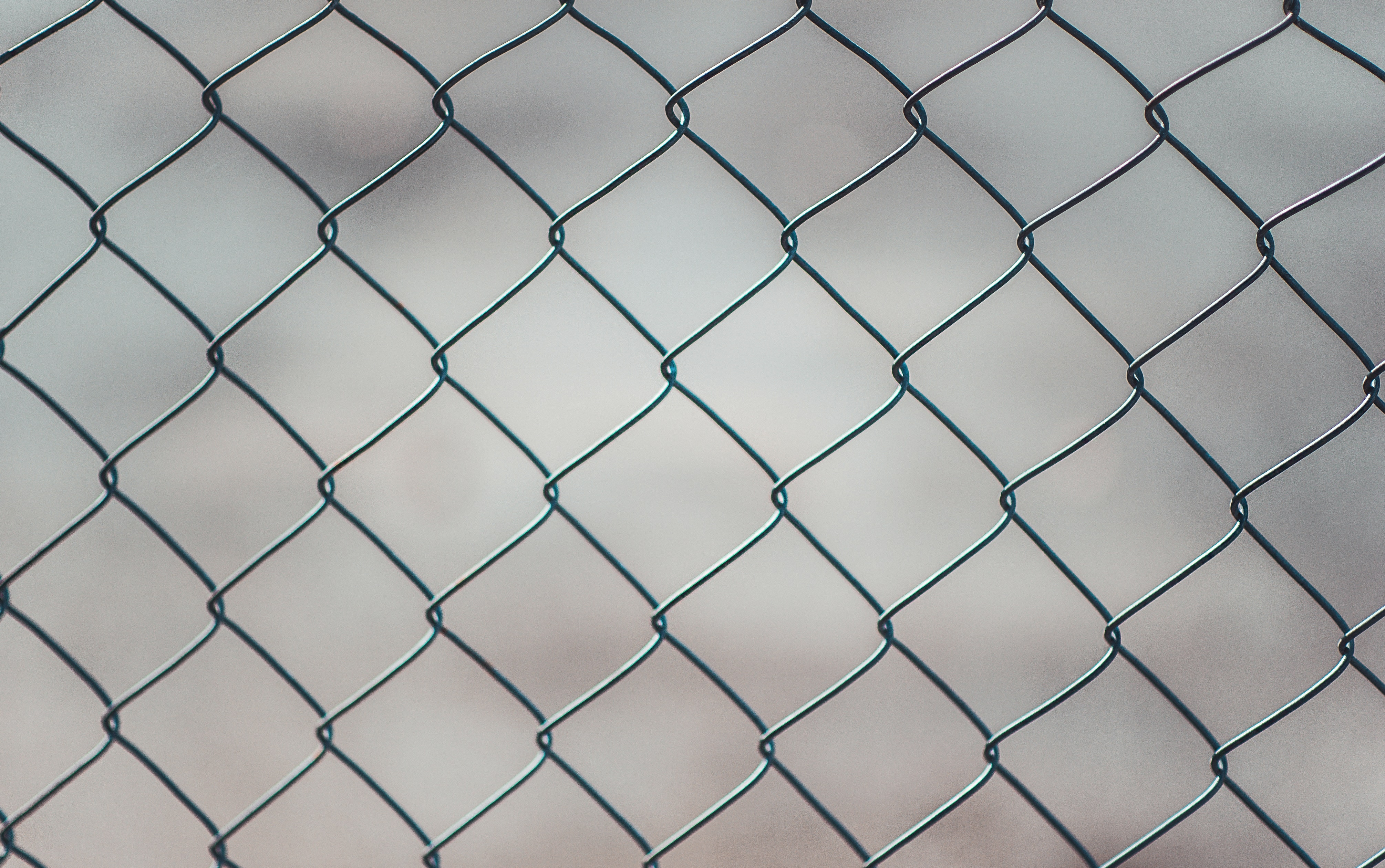 Chain Linked Fence · Free Stock Photo