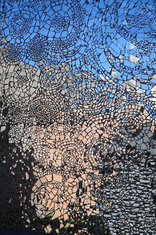 Fotos de stock gratuitas de cristal, cristal roto, efecto espejo