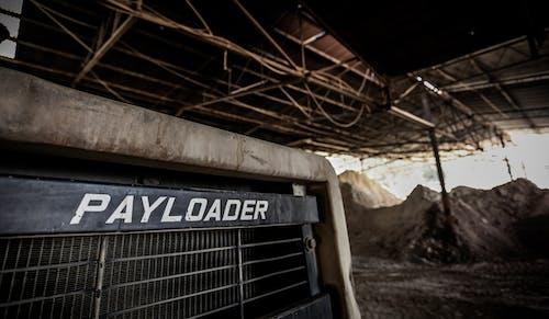 倉庫, 卡車, 推土機, 裝貨 的 免費圖庫相片
