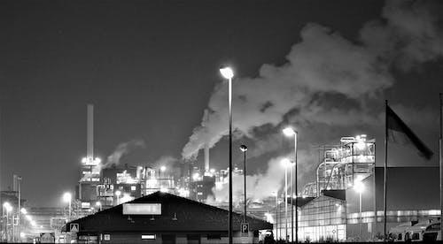 モノクローム, ライト, 地球温暖化, 大気汚染の無料の写真素材