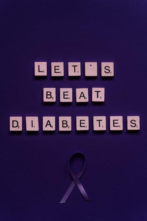 Kostnadsfri bild av bokstäver, brev, kan slå diabetes