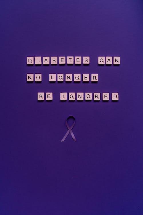 Kostnadsfri bild av bokstäver, brev, ignorera inte diabetes