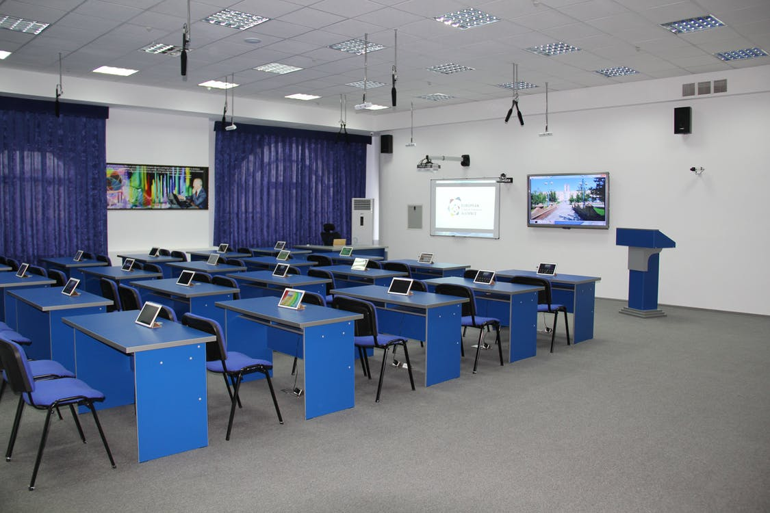 Free stock photo of lecture room for students, university classroom