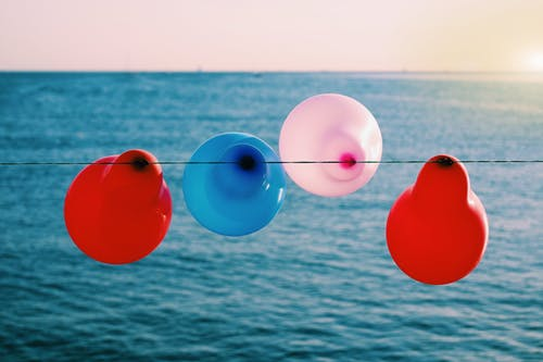 Ảnh lưu trữ miễn phí về bên bờ biển, bóng bay, buổi tiệc, lễ hội