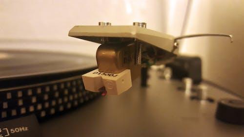 Free stock photo of music, needles, player