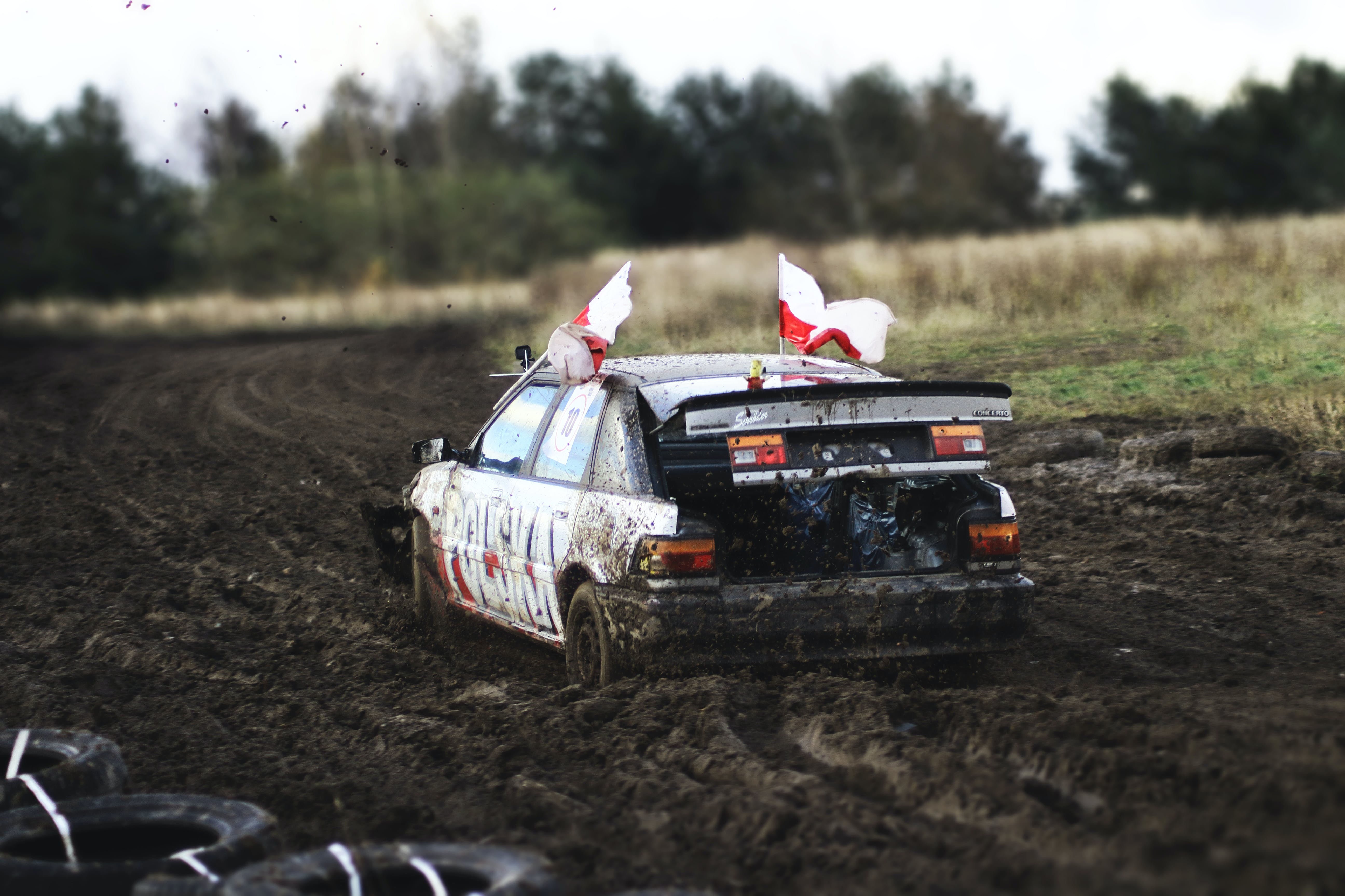 Free stock photo of car, dirt, mud, offroad