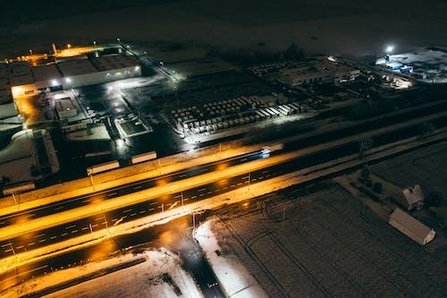 Gratis stockfoto met andere industriële toepassingen, antenne, donker