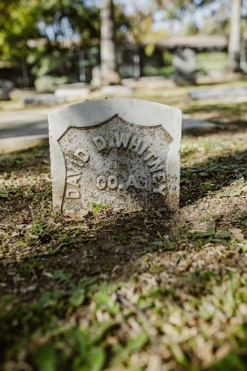 Fotos de stock gratuitas de cementerio, lápida, muerte