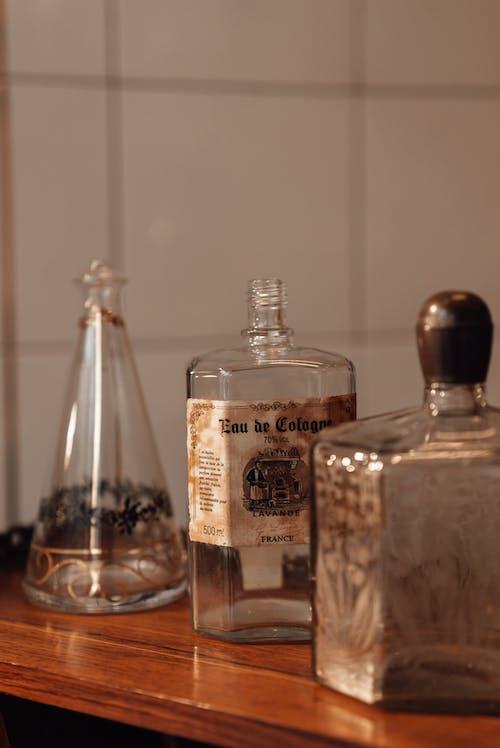 Бесплатное стоковое фото с Ассорти, блестящий, бутылка