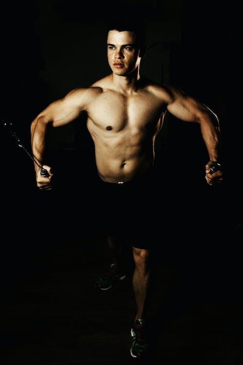 Foto profissional grátis de atividade física, atleta, atraente