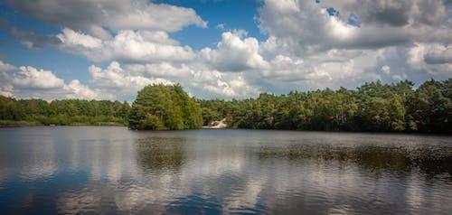 Free stock photo of beautiful landscape, clouds, lake