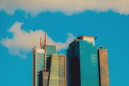 Free stock photo of blue, building, clouds sky