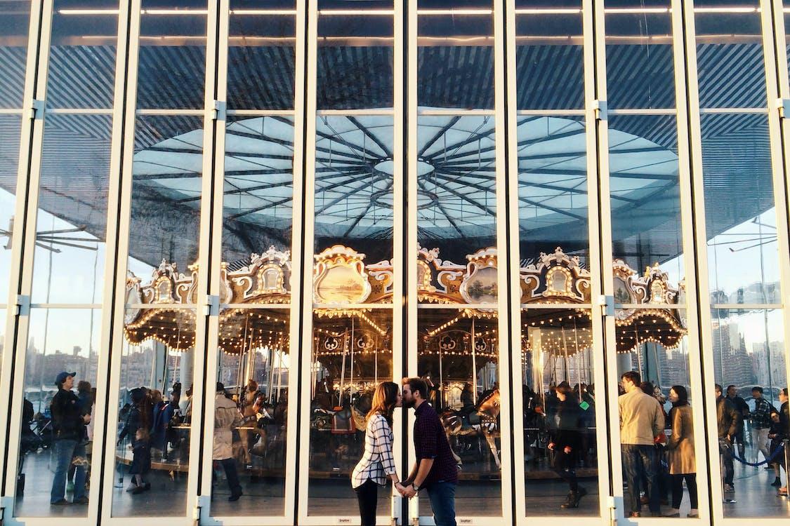 carousel, fun fair, love