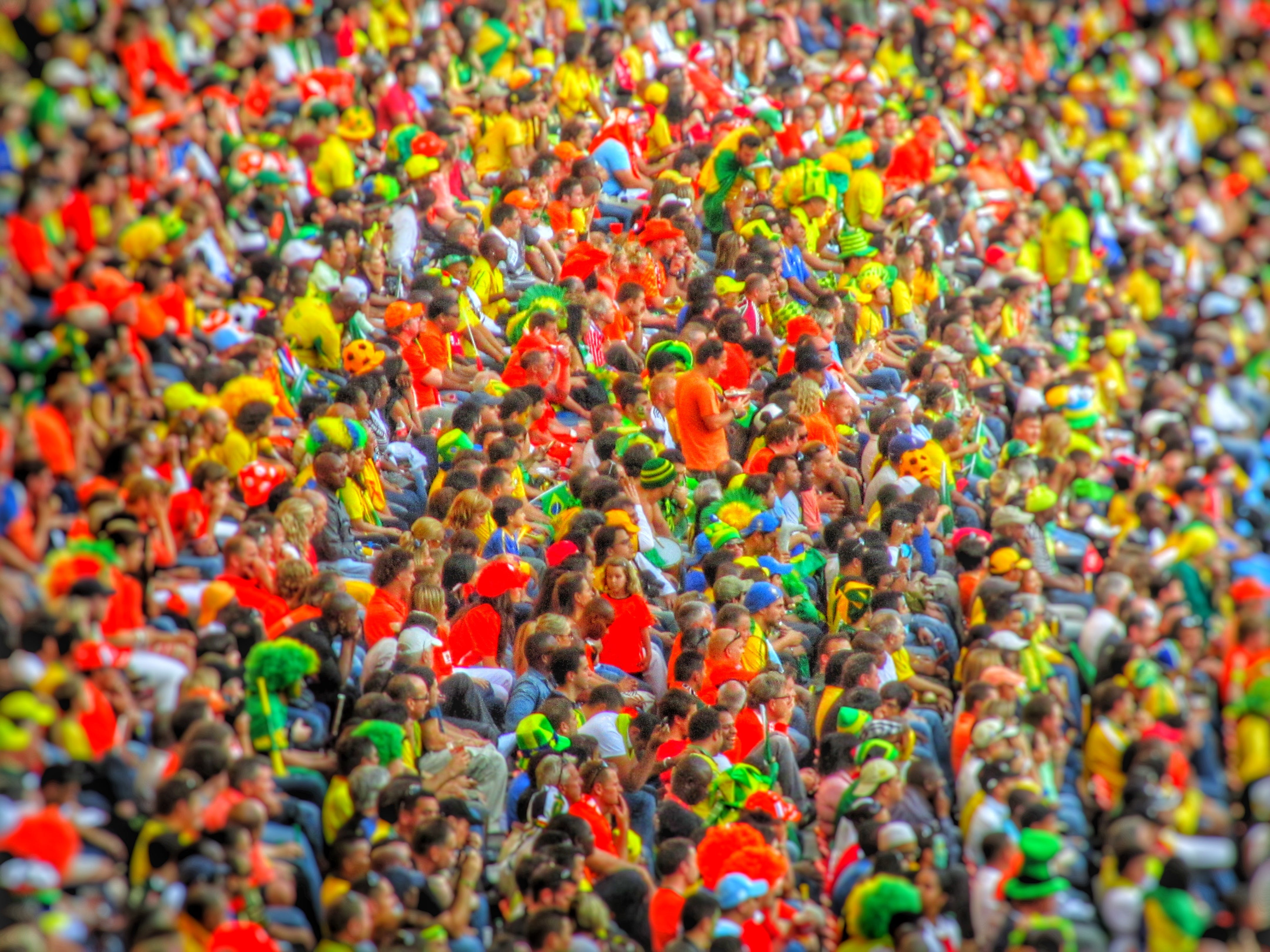 Free stock photo of crowd, football, football crowd, soccer