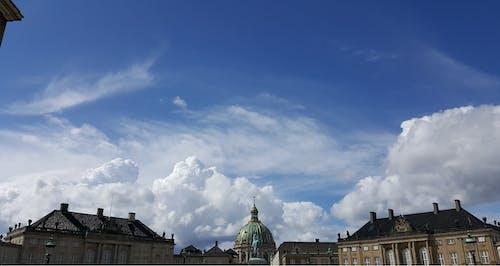 哥本哈根, 天空, 建造, 白色 的 免費圖庫相片