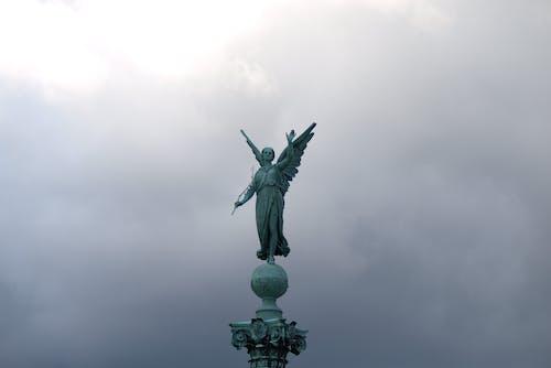 哥本哈根, 天使, 天空, 白色 的 免費圖庫相片