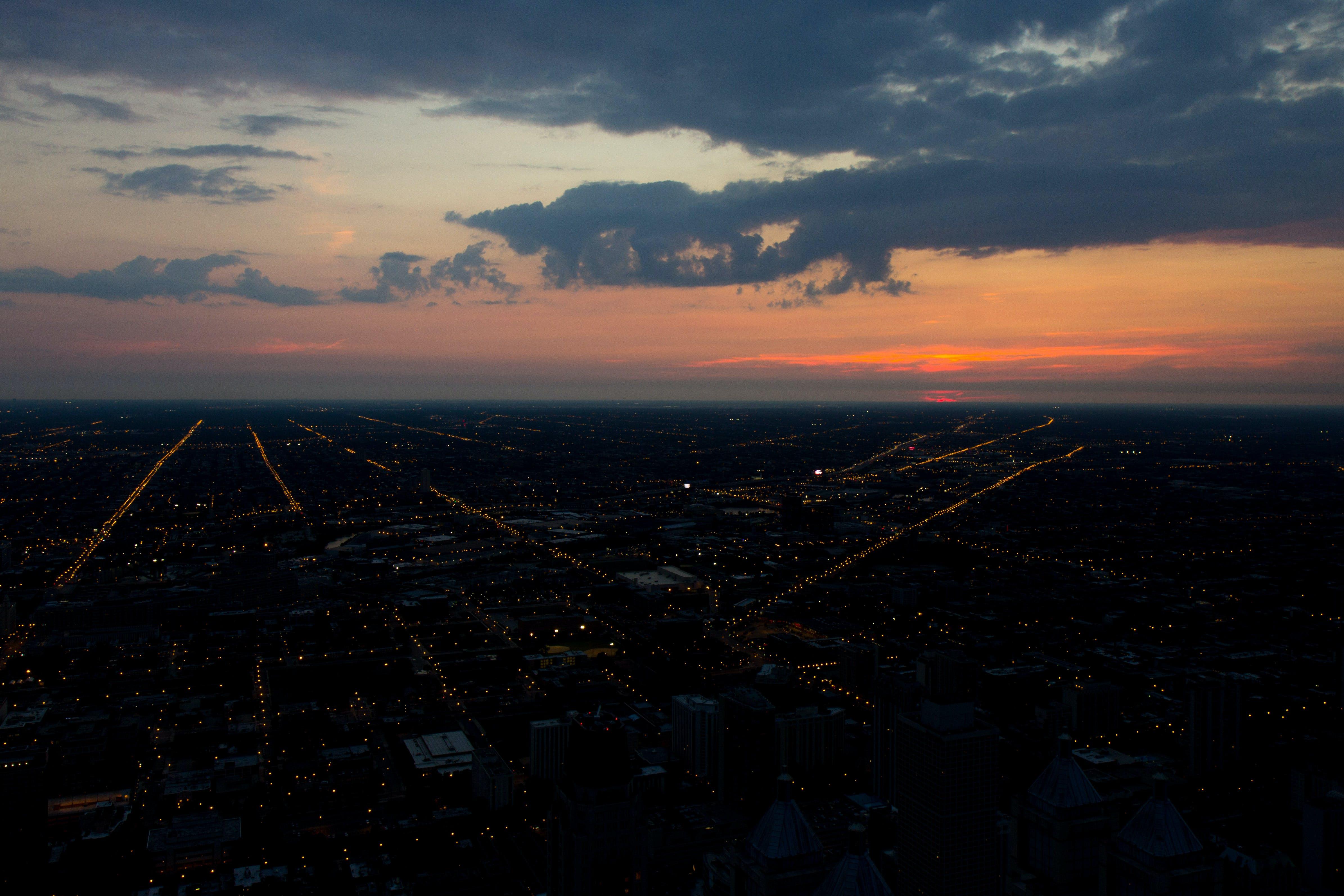 Free stock photo of chicago, city, sunset