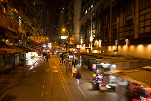 Free stock photo of city streets, moving, Street Stalls